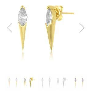 Ariana single spike earring